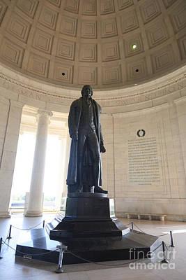 Photograph - Thomas Jefferson Memorial In Washington Dc. by Don Landwehrle
