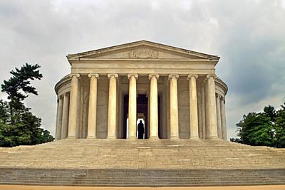 Photograph - Thomas Jefferson Memorial by Jerry Gammon