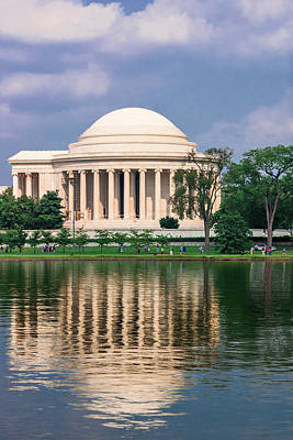 Photograph - Thomas Jefferson Memorial by Mary Almond