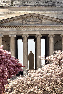 Jefferson Memorial Wall Art - Photograph - Thomas Jefferson by Mitch Cat