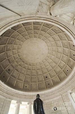 Jefferson Memorial Photograph - Thomas Jefferson Monument by Oscar Gutierrez