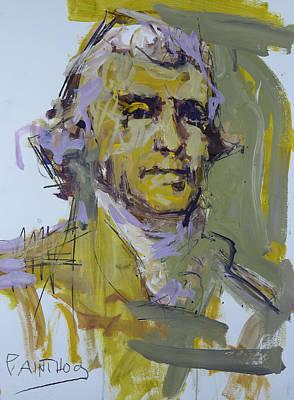 Thomas Jefferson Painting - Thomas Jefferson Painting by Robert Joyner