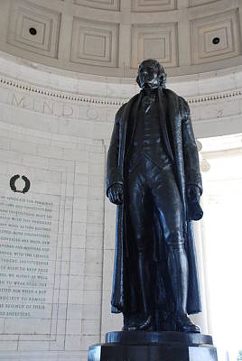 Photograph - Thomas Jefferson Statue by Kenny Glover