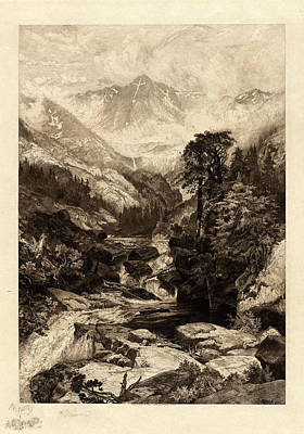 Thomas Moran American, 1837 - 1926, The Mountain Art Print by Quint Lox