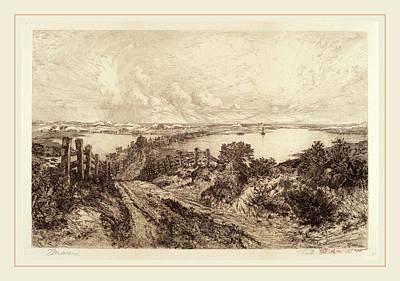 Thomas Moran, Morning, American, 1837-1926 Art Print