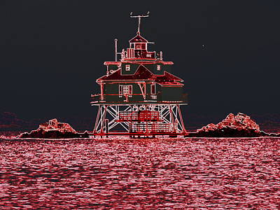 Thomas Point Light House Art Print