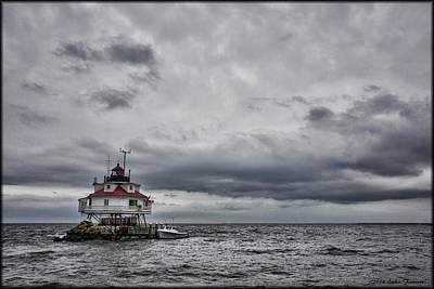 Photograph - Thomas Point Lighthouse by Erika Fawcett