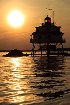 Thomas Point Lighthouse Art Print
