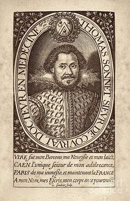 Charlatan Photograph - Thomas Sonnet De Courval, French Poet by Middle Temple Library