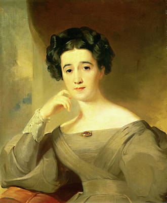Sully Painting - Thomas Sully American, 1783-1872 by Litz Collection