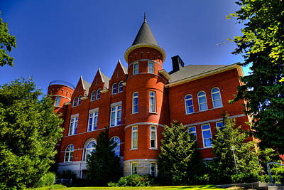 Photograph - Thompson Hall - The Old Administration Building On The Wsu Campus by David Patterson