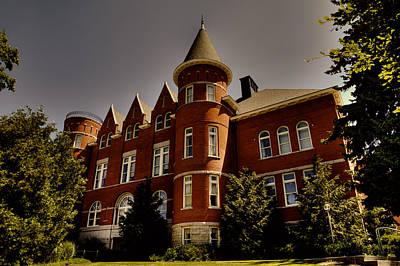Photograph - Thompson Hall - Wsu by David Patterson
