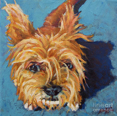 Good Dog Painting - Thompson by Patricia A Griffin