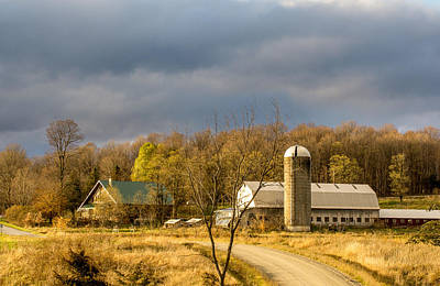 Photograph - Thompson Point Dairy by Jeremy Farnsworth