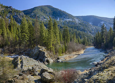 Big Thompson River Photograph - Thompson River by Idaho Scenic Images Linda Lantzy