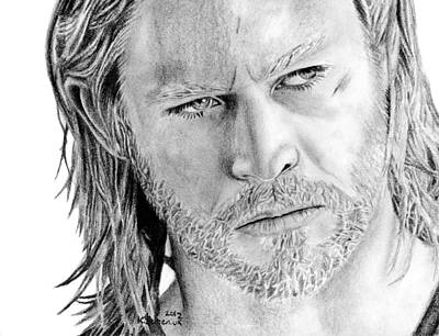 Thor Odinson Art Print by Kayleigh Semeniuk