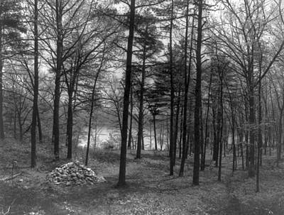 Walden Pond Photograph - Thoreau Walden Pond by Granger