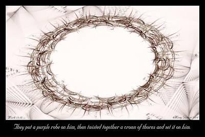 Digital Art - Thorns by Missy Gainer