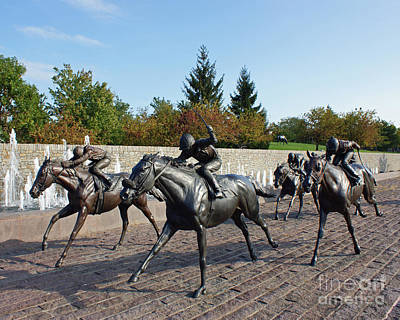 Keeneland Photograph - Thoroughbred Park by Roger Potts