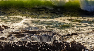 Photograph - Thors Well Fury by Wes and Dotty Weber