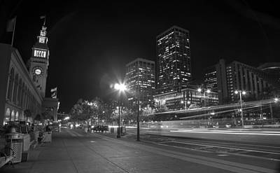 San Fransisco Photograph - Those City Streets by Brad Scott