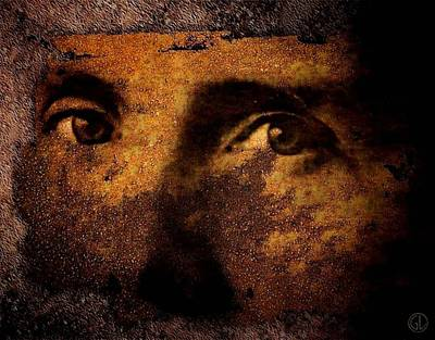Male Portraits Digital Art - Those Eyes by Gun Legler