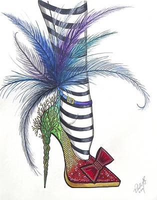 Those Shoes Art Print by Philly Alex Johnmeyer