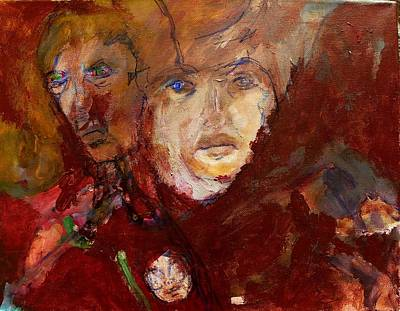 Empathy Painting - Those Who Can Feel Your Pain by Judith Redman