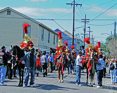 Thoth Photograph - Thoth Parade Begins by Lizi Beard-Ward