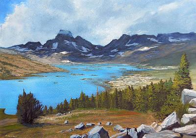 Robert Duvall Painting - Thousand Island Lake by Robert Duvall