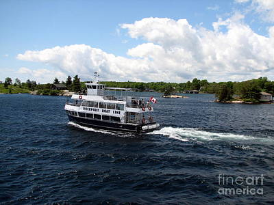 Photograph - Thousand Islands Rockport Boat Line Tours  by Rose Santuci-Sofranko