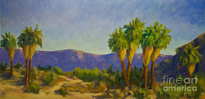 Thousand Palms Preserve Original by Maria Hunt