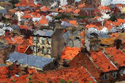 Thousand Roofs Print by Steve K