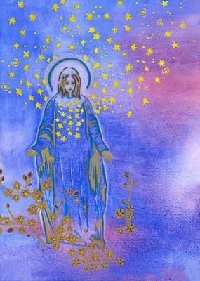 Yogananda Painting - Thousands Of Sun by Mantradevi LoCicero