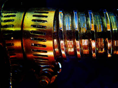 Photograph - Threaded Connector B by Laurie Tsemak