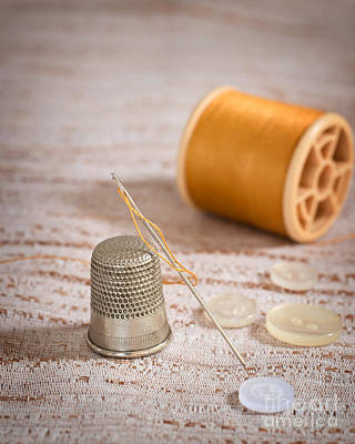 Photograph - Threaded Needle by Amanda Elwell