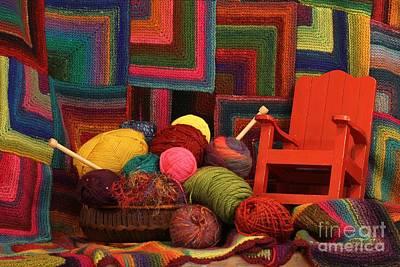Threads Of The Soul Al Profits Benefit Hospice Of The Calumet Area Art Print