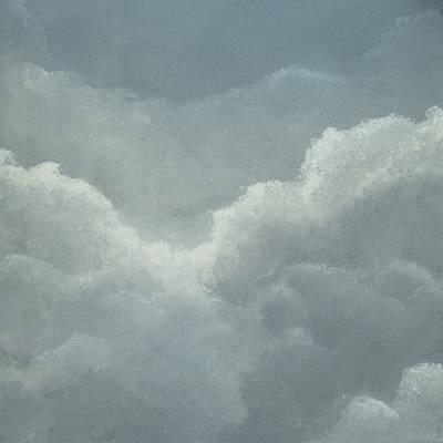 Painting - Threatening Clouds by Anna Bronwyn Foley