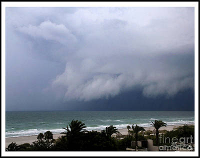 Photograph - Threatening Weather by Mariarosa Rockefeller