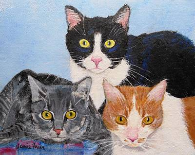 Painting - Three Amigos by Jamie Frier