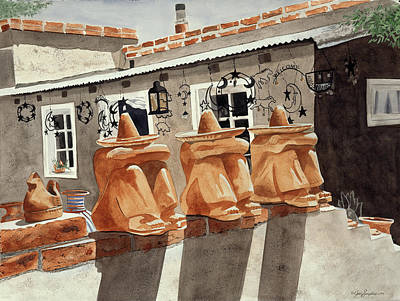 Painting - Three Amigos by Jean Sumption