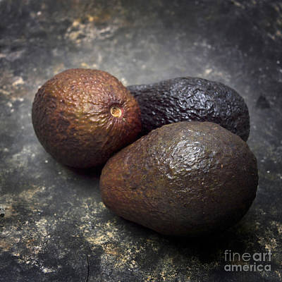 Three Avocados. Art Print by Bernard Jaubert