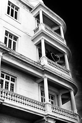 Photograph - Three Balconies In Lisbon by John Rizzuto