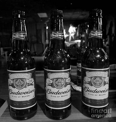 Photograph - Three Beers by Patricia Januszkiewicz