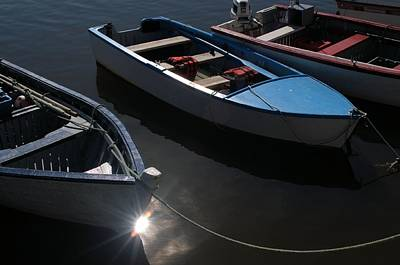 Photograph - Three Boats by Douglas Pike