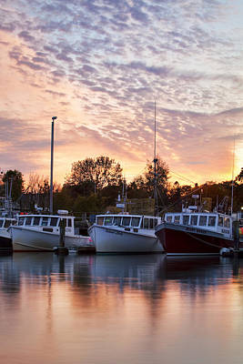 Three Boats Art Print by Eric Gendron