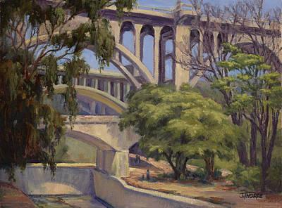 Three Bridges Art Print by Jane Thorpe