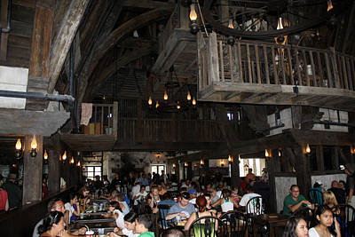Photograph - Three Broomsticks by David Nicholls