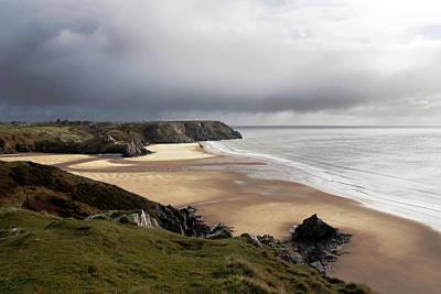 Lucille Ball - Three Cliffs Bay by Steve Ball