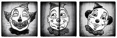 Three Clowns II Art Print by John Rizzuto